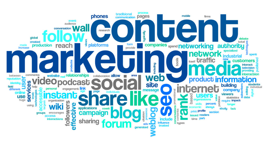 Internet content marketing