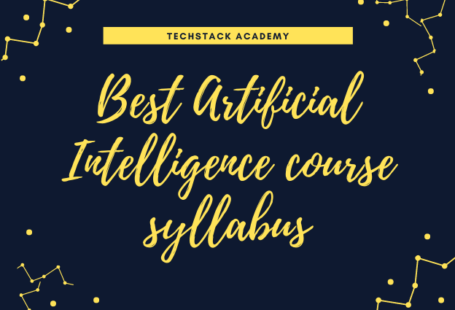 Best Artificial Intelligence course syllabus