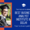 Best Business Analyst institute in delhi