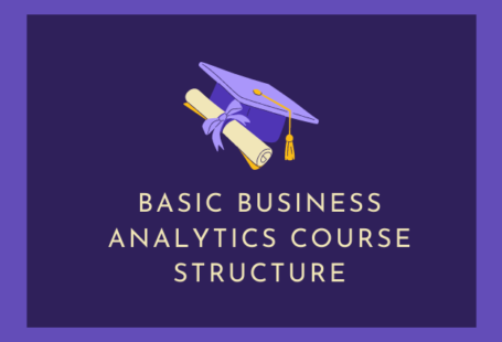 Basic Business Analytics Course Structure